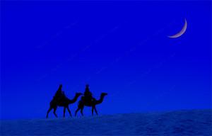 月の砂漠1